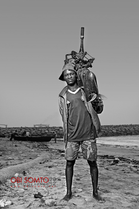 photoblog image Boy From Tarkwa Bay II